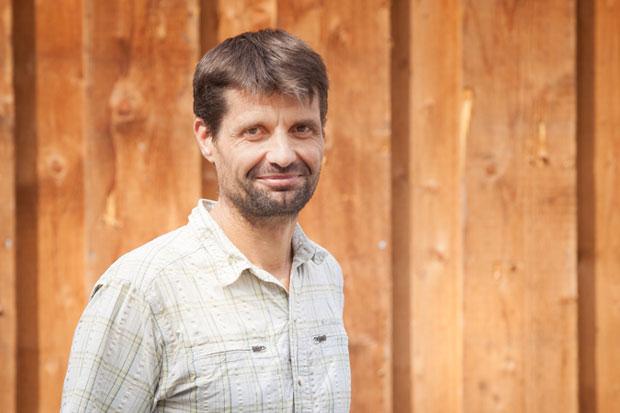 Eric Jaeglé, Bauführer der Firma Boehi + Wirz Bedachungen AG.